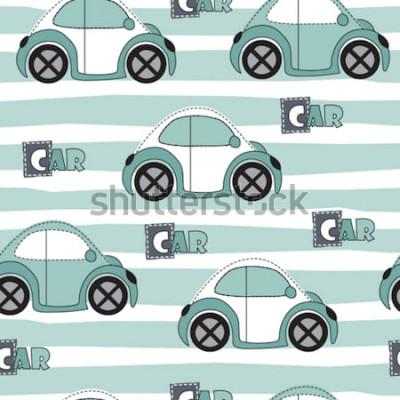 Наклейка автомобиль шаблон векторные иллюстрации