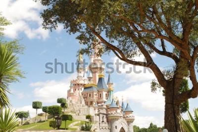 Наклейка Disneyland Paris castle