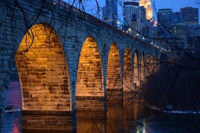 Наклейка Каменный мост Arch
