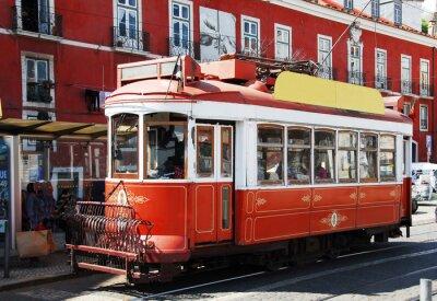 Наклейка Strassenbahn в Лиссабон