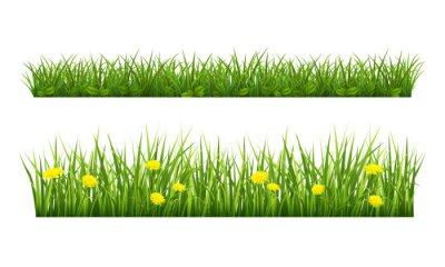 Наклейка Лето трава