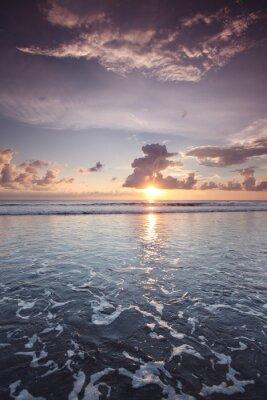 Наклейка Закат на Бали