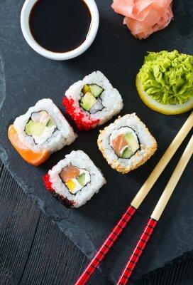 Наклейка суши