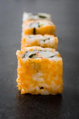 Наклейка Суши. японская еда