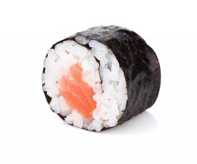 Наклейка Суши Маки с лососем