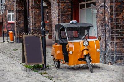 Наклейка Такси
