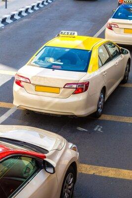 Наклейка Такси в Дубае