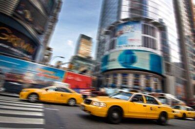Наклейка Такси - Нью-Йорк, США
