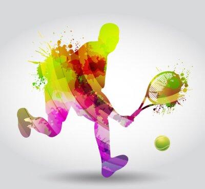 Наклейка Теннис, Competizione, Torneo
