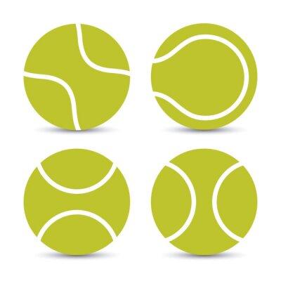 Наклейка Теннис дизайн
