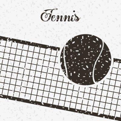 Наклейка теннис спорт дизайн