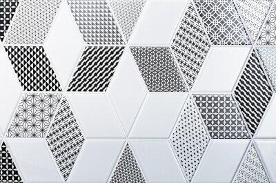 Наклейка Текстура классической плитки, абстрактный узор