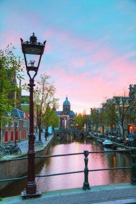 Наклейка Базилика Святого Николая в Амстердаме