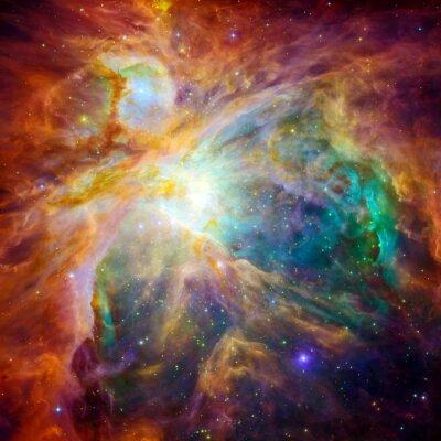Наклейка Космическое облако называется Туманность Ориона