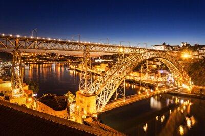 Наклейка Dom Luis мост