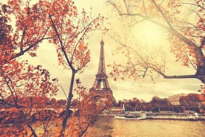 Наклейка Эйфелева башня в Париже