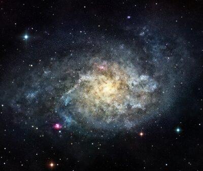 Наклейка галактика