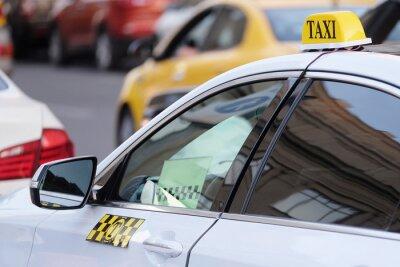 Наклейка Изображение такси