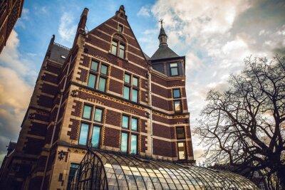 Наклейка Rijksmuseum является национальный музей Нидерландов, посвященный искусству и истории в Амстердаме. Музей расположен на площади музея в городке Амстердам Юг, недалеко от музея Ван Гога.