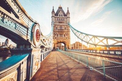 Наклейка Тауэрский мост в Лондоне