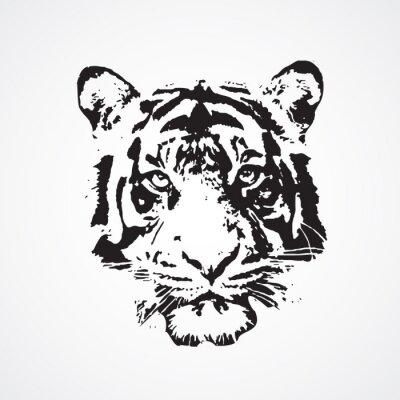 Наклейка Тигре