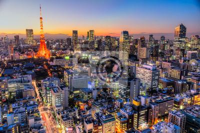 Наклейка Токио, Япония.