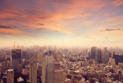 Наклейка Токио Skyline