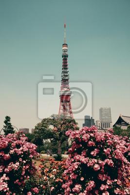Наклейка Токийская башня