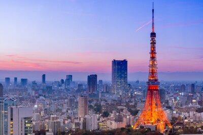 Наклейка Токийская башня, Токио, Япония