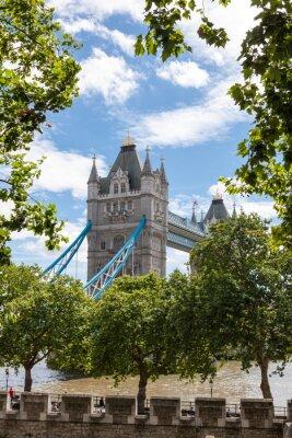 Наклейка Тауэрский мост от Лондонского Тауэра, Великобритания