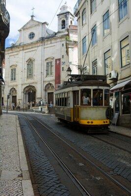 Наклейка Трамвай - Lisbona