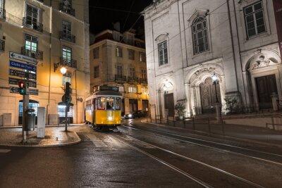 Наклейка Трамвай Lisbonne Португалия