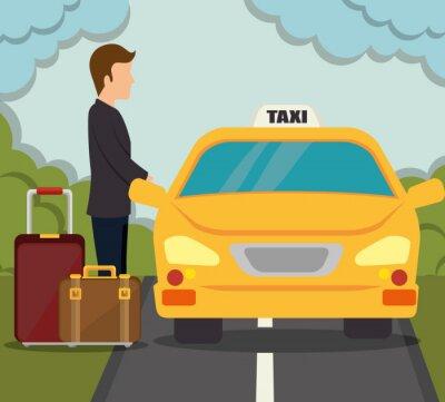 Наклейка дизайн транспортные услуги