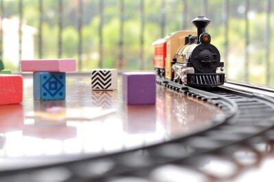 Наклейка Tren juguete