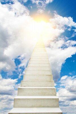 Наклейка Лестница в небо