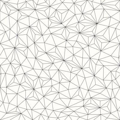 Наклейка Треугольники фон, бесшовные шаблон, дизайн линия