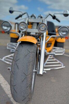 Наклейка трехколесный велосипед