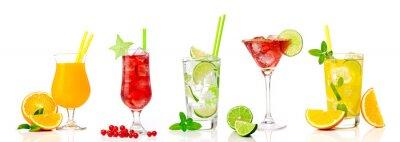 Наклейка Tropical cocktail assortments