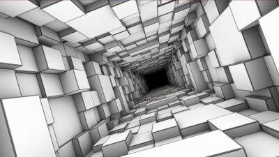 Наклейка туннель