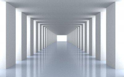 Наклейка Туннель белый свет