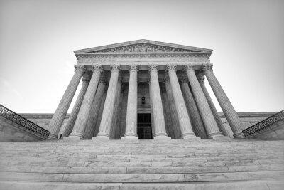 Наклейка Верховный суд США