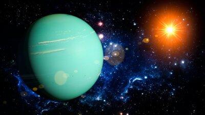 Наклейка Уран