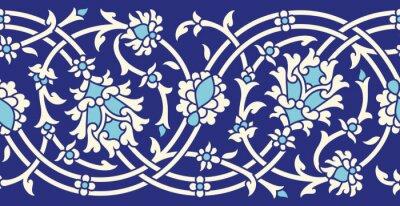 Наклейка Узбекистан Бесшовные Пограничный