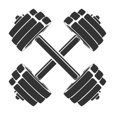Наклейка Шаблон для спортивного значка, символа, логотипа или другого брендинга. Современная ретро иллюстрация.