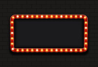 Наклейка Вектор современный ретро щит фон