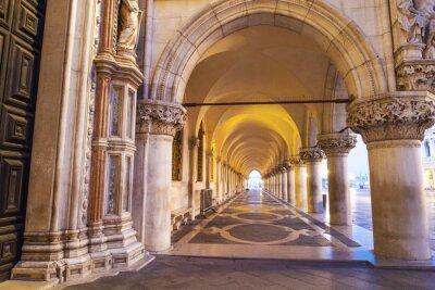 Наклейка Венеция, Colonnato ди площади Сан-Марко.