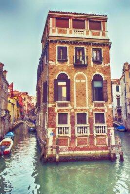 Наклейка Венеция, палаццо нель Канале.