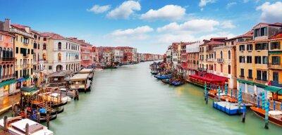 Наклейка Мост Риальто и Гранд-канал - Венеция