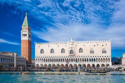 Наклейка Венеция с площади Сан-Марко в Италии
