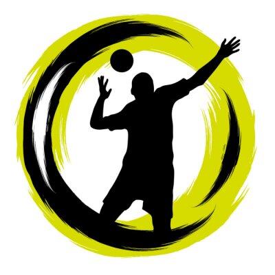 Наклейка Волейбол - 101